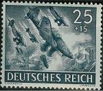 Stamps Germany -  Día de los héroes ( I )