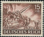 Stamps : Europe : Germany :  Día de los héroes ( I )
