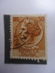 Stamps Italy -  Antigua Moneda Siracusana (Vt/7167 - M/1073)