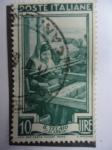Stamps Italy -  Il Telaio - Calabria.