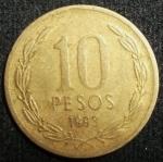 monedas de America - Chile -  1993 (Reverso)