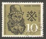 Sellos de Europa - Alemania -  179 - IV Centº de la muerte del matemático Adam Riese