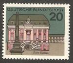 Sellos de Europa - Alemania -  295 A - Edificio de la ciudad de Lander