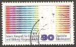 Stamps Germany -  899 - Congreso internacional para la educación y la formación de personas sordas