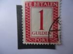 Stamps Netherlands -  Te Betalen.