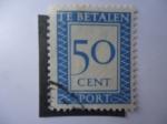 Sellos de Europa - Holanda -  Te Betalen- Cifra - A Pagar- Países Bajos.