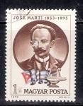 Sellos de Europa - Hungría -  José Martí, 1853-1895