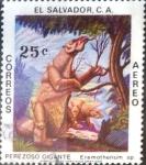 Sellos de America - El Salvador -  Intercambio cr2f 0,20 usd 25 cents. 1979