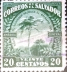 Sellos del Mundo : America : El_Salvador : Intercambio 0,40 usd 20 cents. 1924