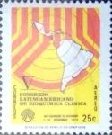 Sellos del Mundo : America : El_Salvador : Intercambio 0,20 usd 25 cents.  1979