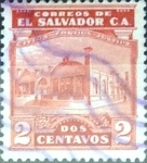 Sellos del Mundo : America : El_Salvador : Intercambio 0,20 usd 2 cents. 1924