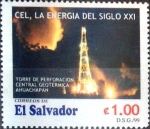 Stamps : America : El_Salvador :  1 colon 1999