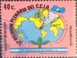 Stamps : America : El_Salvador :  Intercambio 0,20 usd 40 cents.1979