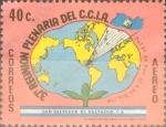 Sellos del Mundo : America : El_Salvador : Intercambio 0,20 usd 40 cents.1979