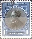 Sellos del Mundo : America : El_Salvador : Intercambio 0,20 usd 1 cent. 1912