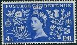 Stamps United Kingdom -  Coronación de la Reina Isabel II