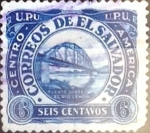 Sellos del Mundo : America : El_Salvador : Intercambio 0,20 usd 6 cent. 1924