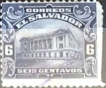 Sellos del Mundo : America : El_Salvador : Intercambio 0,20 usd 6 cent. 1916
