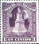 Sellos del Mundo : America : El_Salvador : Intercambio 0,20 usd 1 cent. 1924