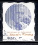 Sellos de America - México -  Centenario del Natalicio de Alejandro Fleming