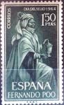 Stamps Spain -  Intercambio jxi 0,30 usd 1,50 ptas. 1964