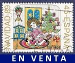 Stamps Spain -  Edifil 3037 Navidad 1989 45