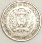 monedas de America - Rep Dominicana -  1976 (Reverso)