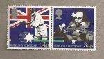 Stamps United Kingdom -  Bicentenario Australia