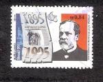Sellos de America - Brasil -  Centenario luctuoso de Louis Pasteur