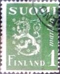 Sellos del Mundo : Europa : Finlandia : Intercambio agm 0,20 usd 1 m. 1942