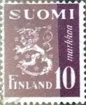 Stamps Finland -  Intercambio crxf 0,20 usd 10 m. 1947