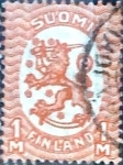 Stamps : Europe : Finland :  1 m. 1927