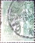Sellos del Mundo : Europa : Francia : 5 cent. 1898