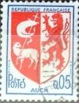 Sellos de Europa - Francia -  Intercambio 0,20  usd 5 cent. 1966