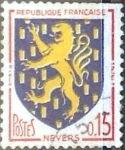 Stamps : Europe : France :  Intercambio 0,20  usd 15 cent. 1962