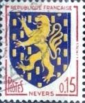 Sellos del Mundo : Europa : Francia : Intercambio agm 0,20  usd 15 cent. 1962