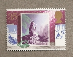 Stamps United Kingdom -  Navidades 1988