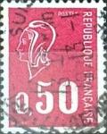Sellos de Europa - Francia -  Intercambio 0,20  usd 50 cent. 1971