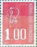 Sellos de Europa - Francia -  Intercambio 0,20  usd 1 franco  1976