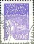 Sellos de Europa - Francia -  Intercambio jxn 1,50  usd 2 euros 2002