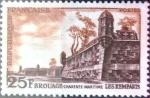 Sellos de Europa - Francia -  Intercambio 0,20 usd 25 francos 1955