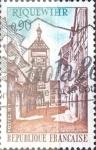 Sellos de Europa - Francia -  Intercambio 0,20 usd 90 cent. 1971