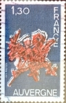 Sellos del Mundo : Europa : Francia : Intercambio jcpf 0,50 usd 1,30 francos 1975