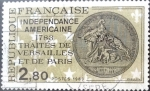 Stamps : Europe : France :  Intercambio 0,60 usd 2,80 francos 1983