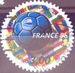 Stamps : Europe : France :  Intercambio js 0,30 usd 3 francos 1998