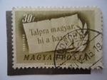 Sellos de Europa - Hungría -  Talpra Magyar, he a haza 1848-1948