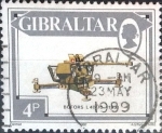 Stamps : Europe : Gibraltar :  Intercambio jxa 0,20 usd 4 p. 1987