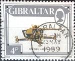 Stamps : Europe : Gibraltar :  Intercambio jxa 0,20 usd 4 p. 1987