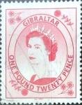Stamps : Europe : Gibraltar :  Intercambio jxa 6,00 usd 1,20 libras 2001