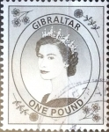 Stamps : Europe : Gibraltar :  Intercambio 4,00 usd 1 libra 1999